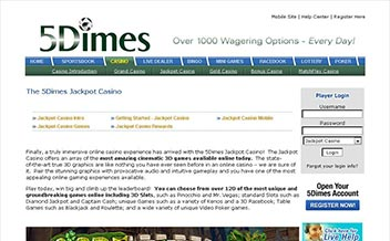 Screenshot 1 5Dimes Casino