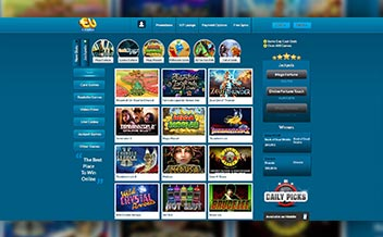 Screenshot 4 EUcasino