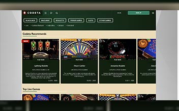 Screenshot 3 Codeta Casino