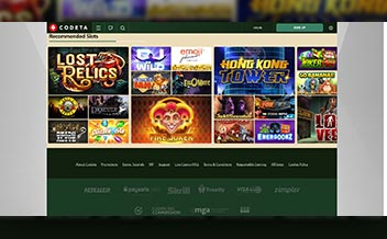 Screenshot 2 Codeta Casino