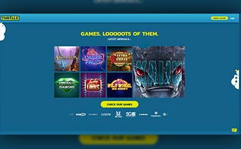 Screenshot 1 Thrills Casino