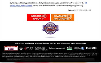 Screenshot 4 Zodiac Casino