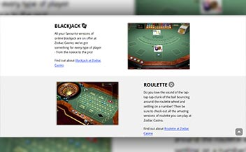 Screenshot 3 Zodiac Casino