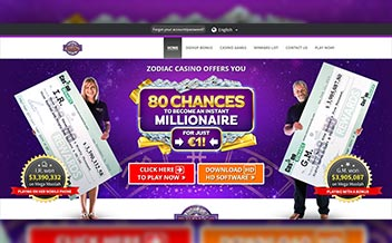 Screenshot 2 Zodiac Casino