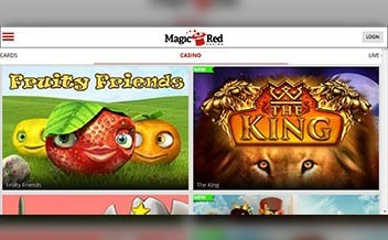 Screenshot 2 Magic Red Casino